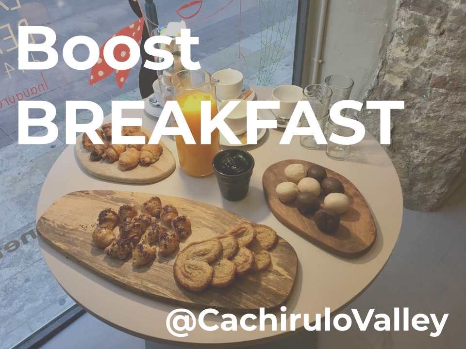 BOOST BREAKFAST BY @CACHIRULOVALLEY