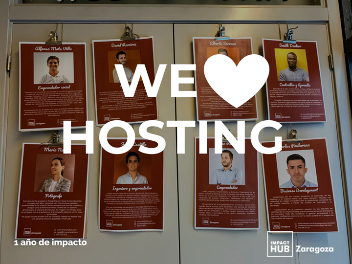 ¡We love HOSTING!