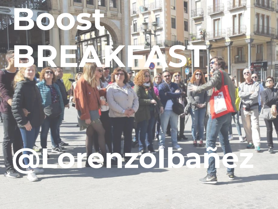 BOOST BREAKFAST BY @Lorenzo Ibañez [Free Tour Breakfast]